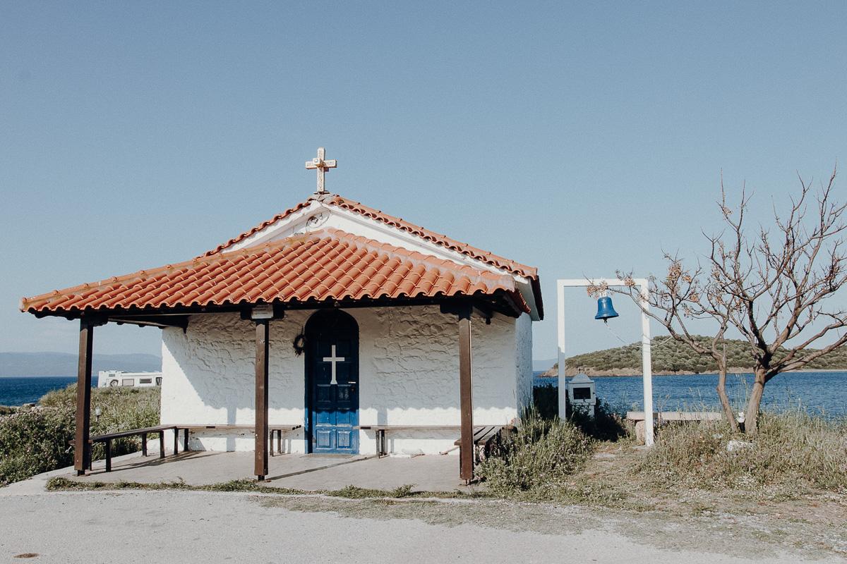 Urlaub Chalkidiki Kirche Agios