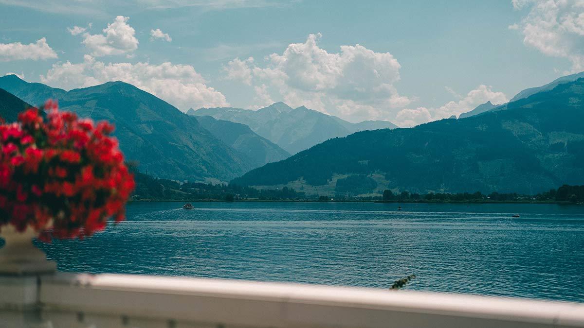 Aussicht See