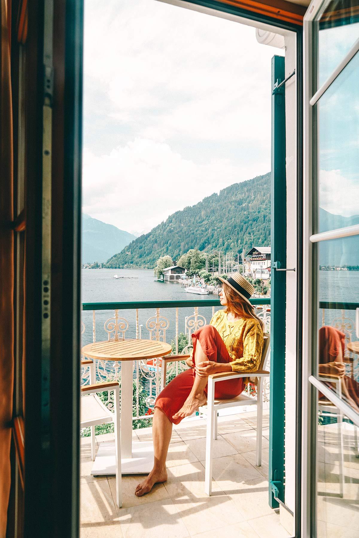Balkon Hotel Zell am See