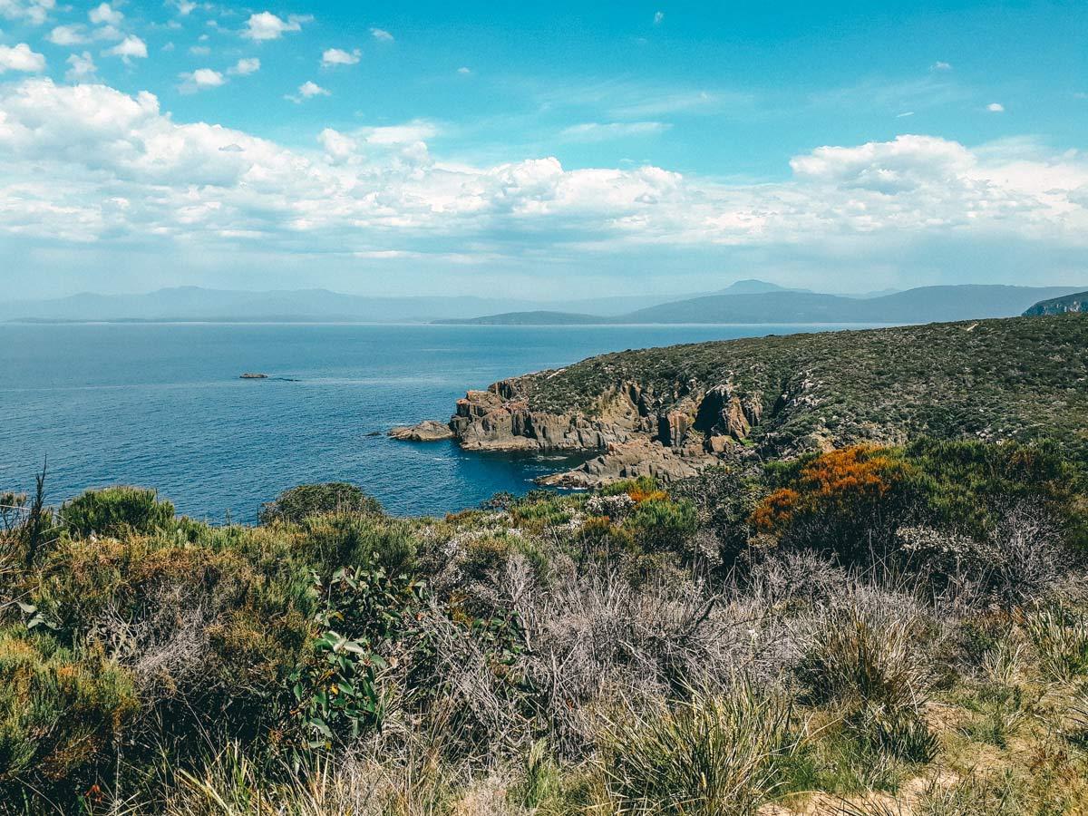 Bruny Island Tasmanien