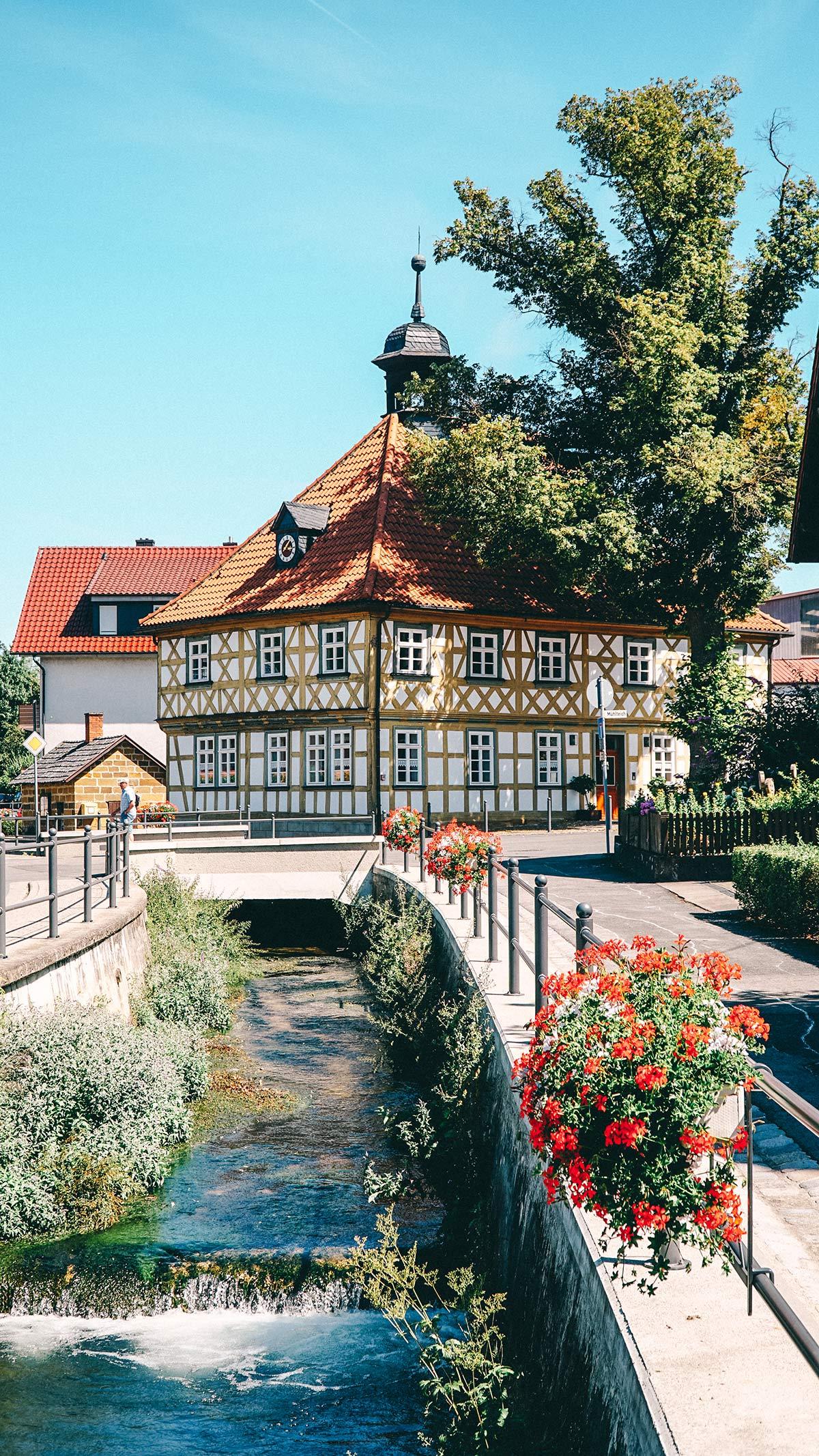 Genusswanderung Loffeld Bach Alte Schule