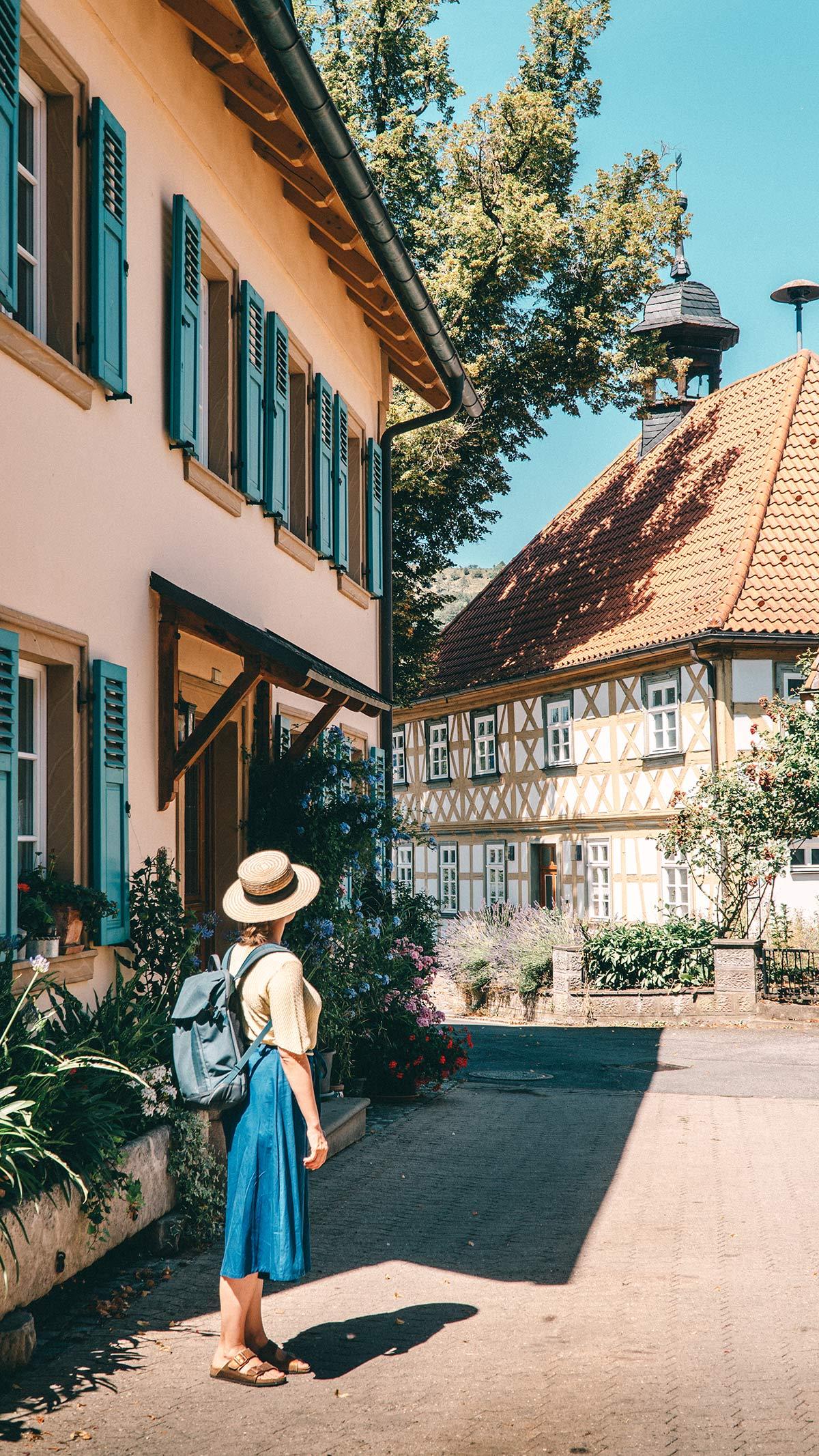 Genusswanderung Loffeld Blick Alte Schule