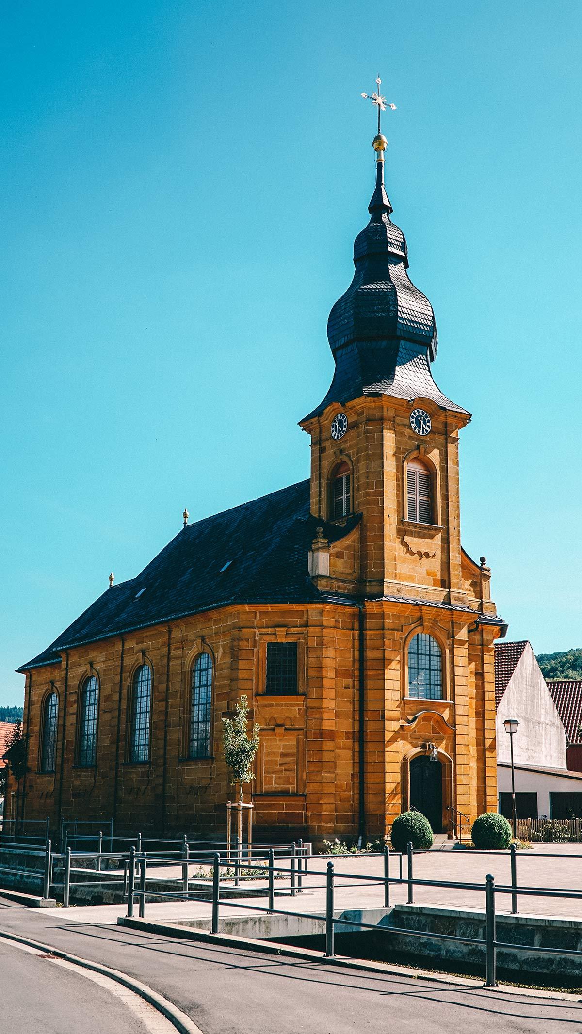 Genusswanderung Stublang Kirche