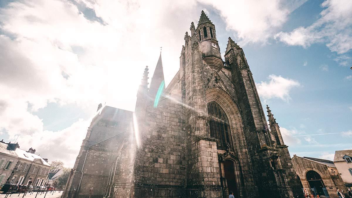 Guerande Stiftskirche St. Aubin