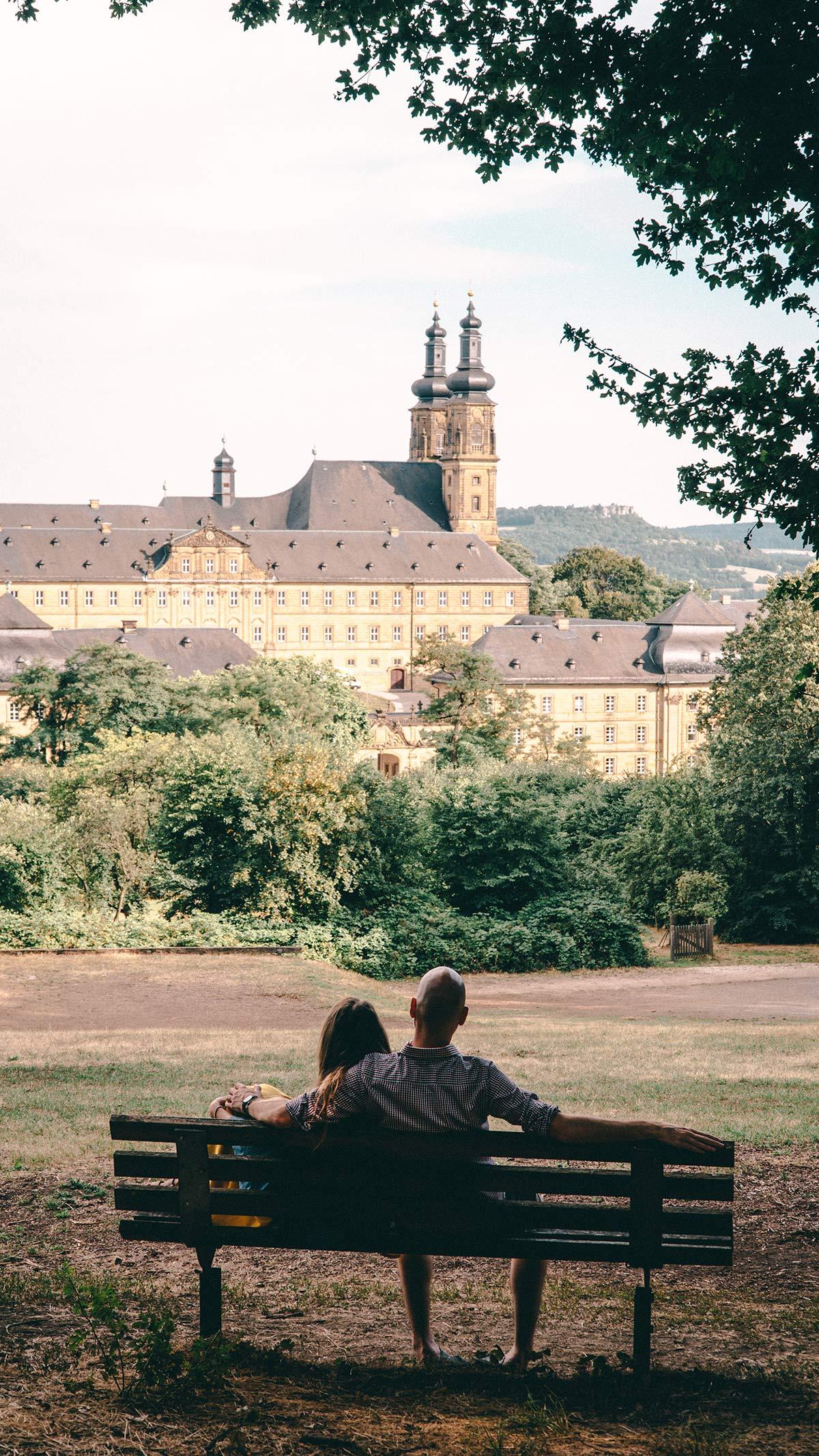 Kloster Banz Aussicht