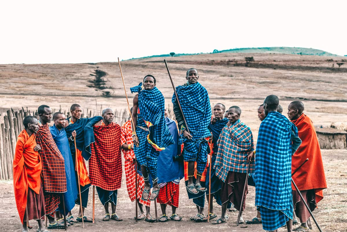 Massai Ngorongoro Nationalpark