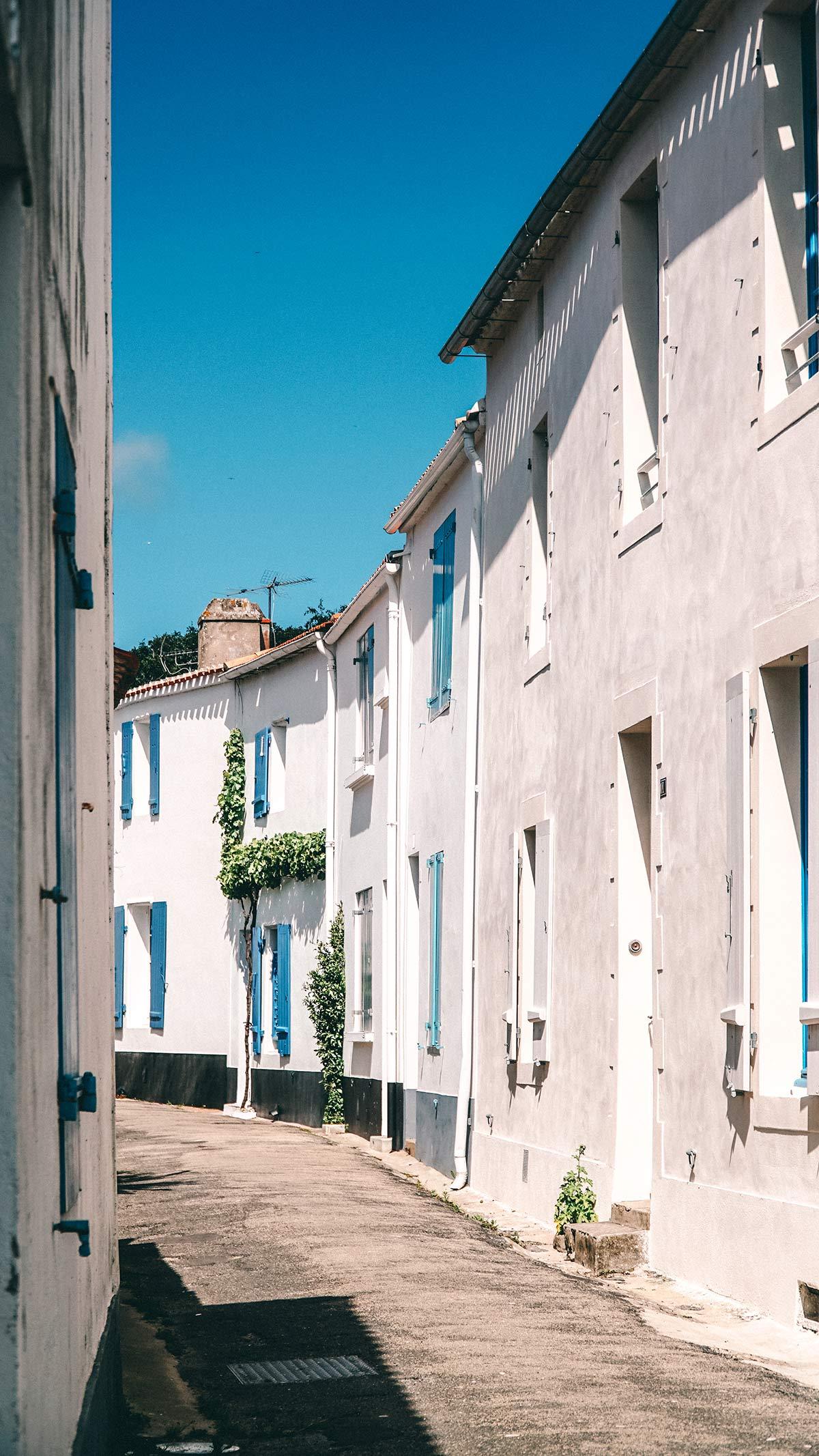 Noirmoutier Gasse