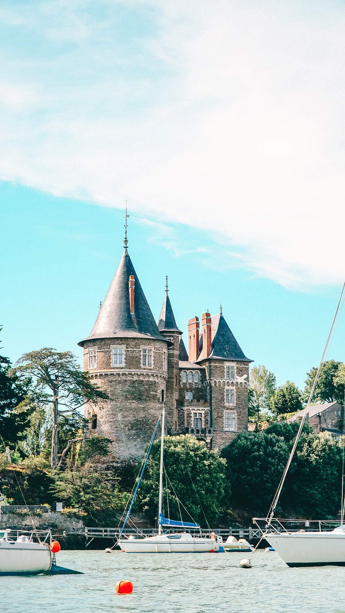 Pornic Schloss