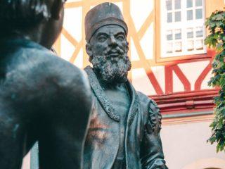 Skulptur Adam Riese