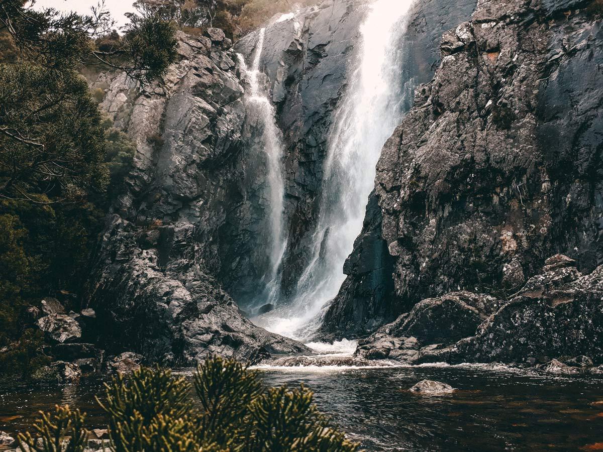 Wasserfaelle Tasmaniens