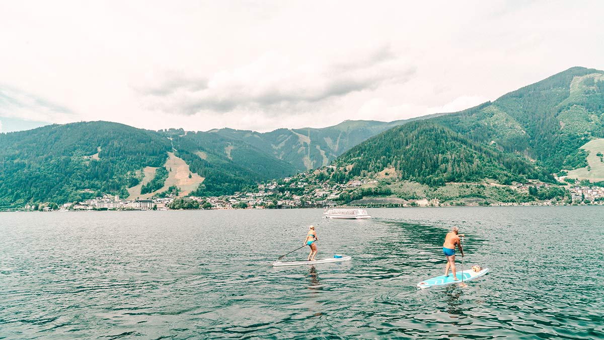 Zell am See Wassersport