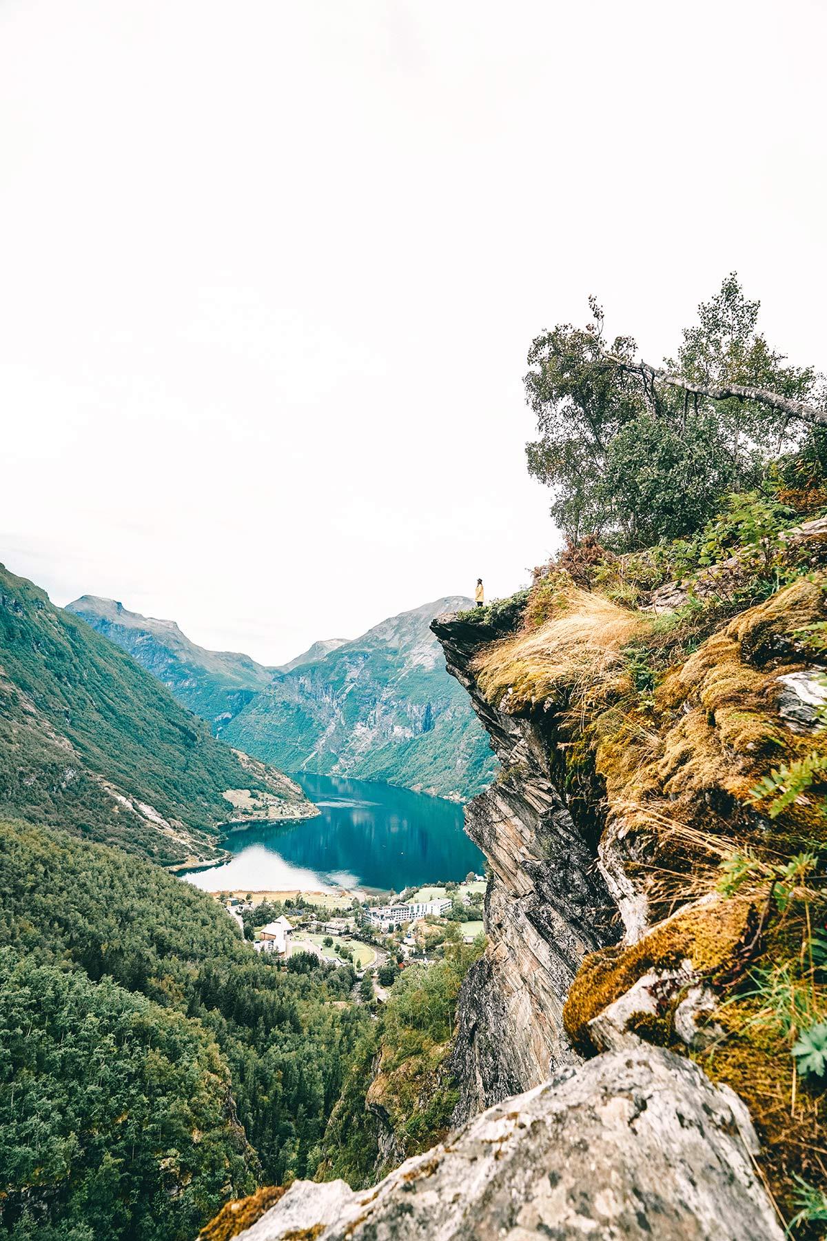 Aussicht Geirangerfjord
