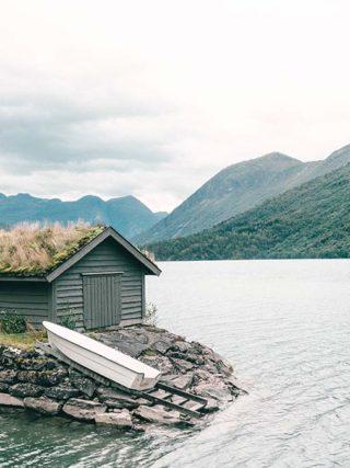 Bootshaus Norwegen