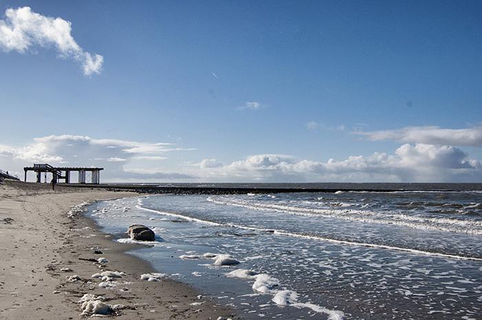 borkum strand meer