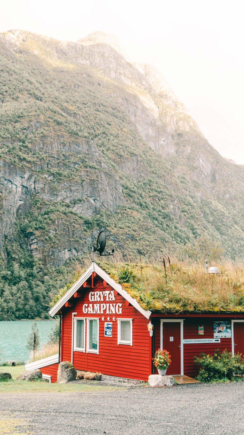 Campingplatz Gletscher Briksdalsbreen
