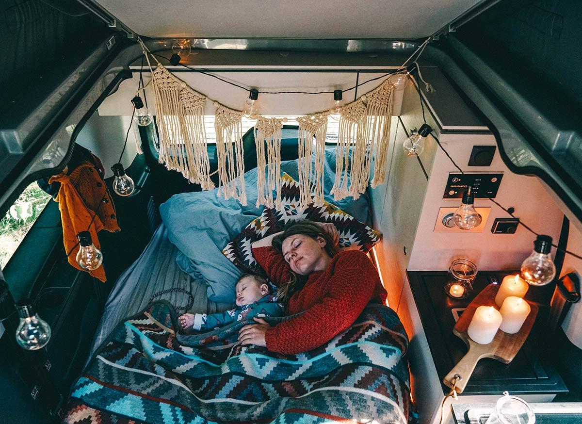 Crosscamp Schlafplatz