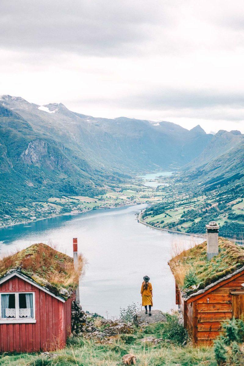 Rakssetra Norwegen Wanderung
