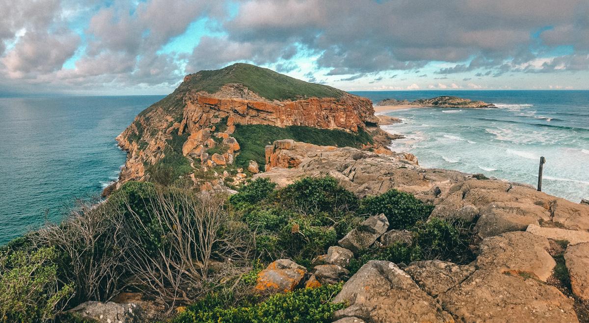 Robberg Nature Reserve in Plettenberg Bay II Südafrika mit Kleinkind