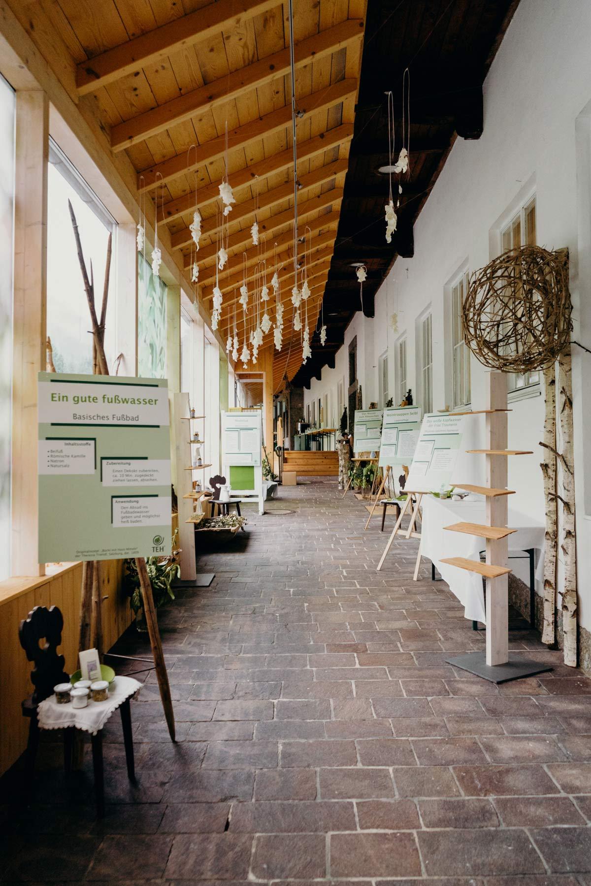 Salzburger Saalachtal Salbenwerkstatt