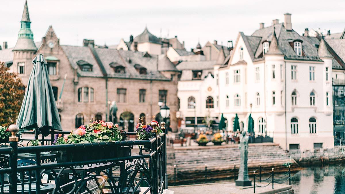 Stadt Alesund