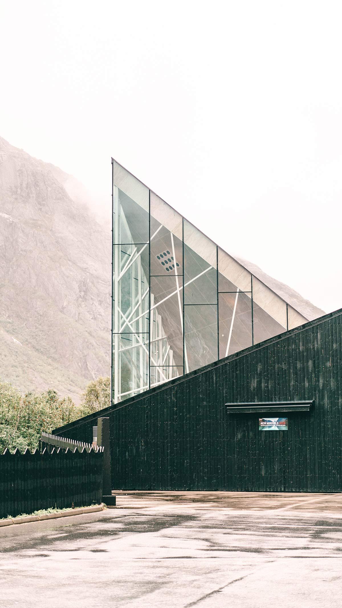 Trollveggen Besucherzentrum Restaurant