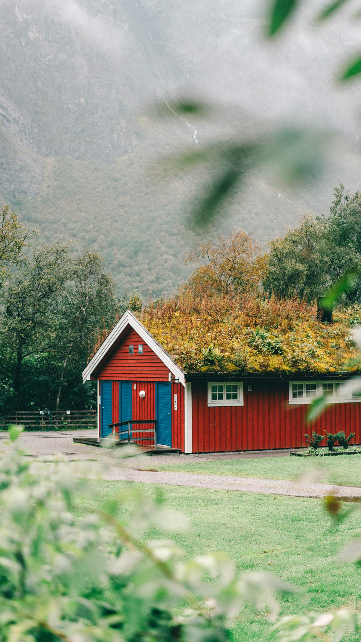 Trollveggen Campingplatz Toilettenhaus