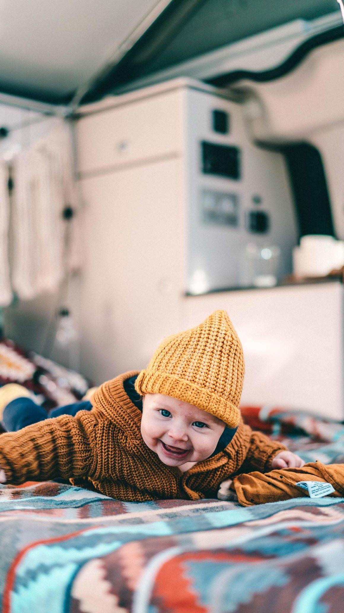 Elternzeit mit Baby im Camper