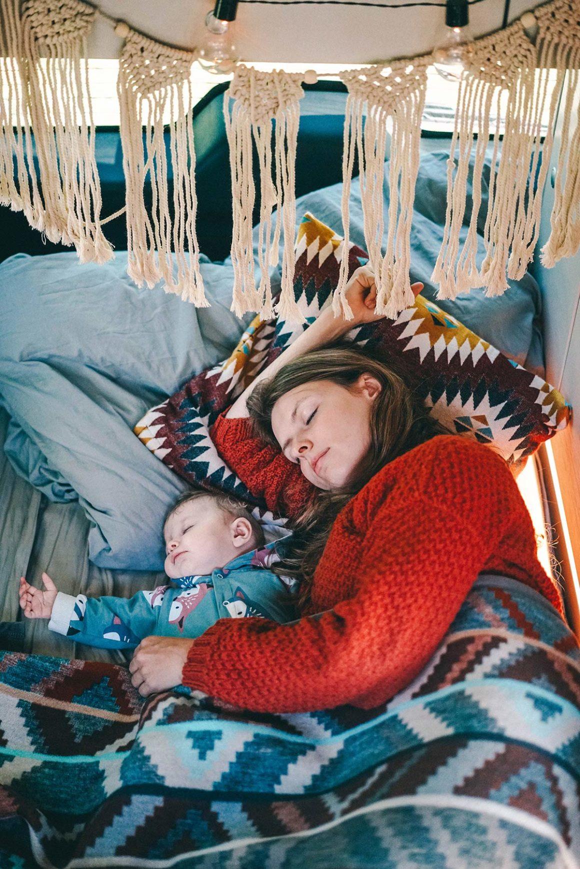Schlafen im Camper