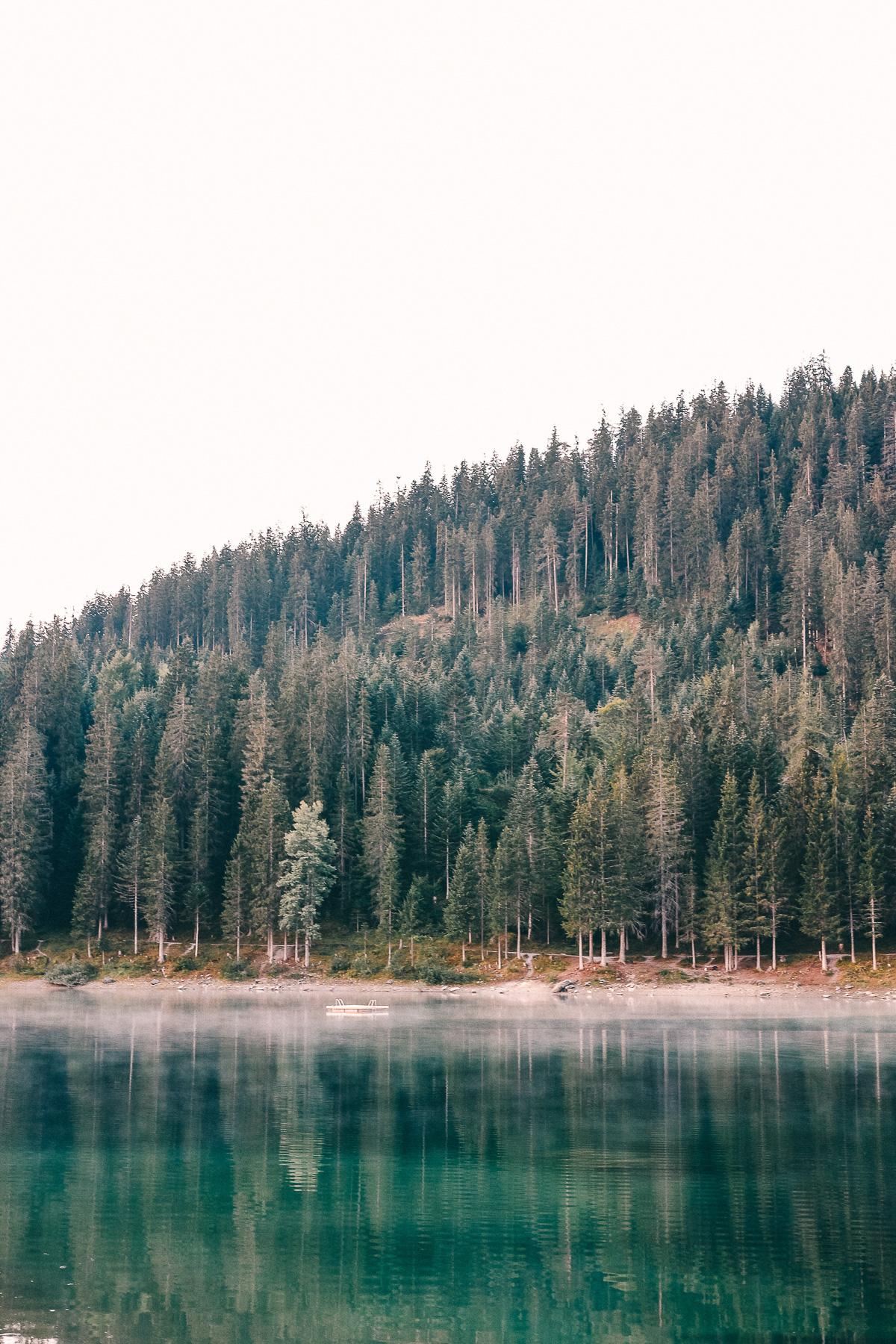 Nebel Caumasee Flims