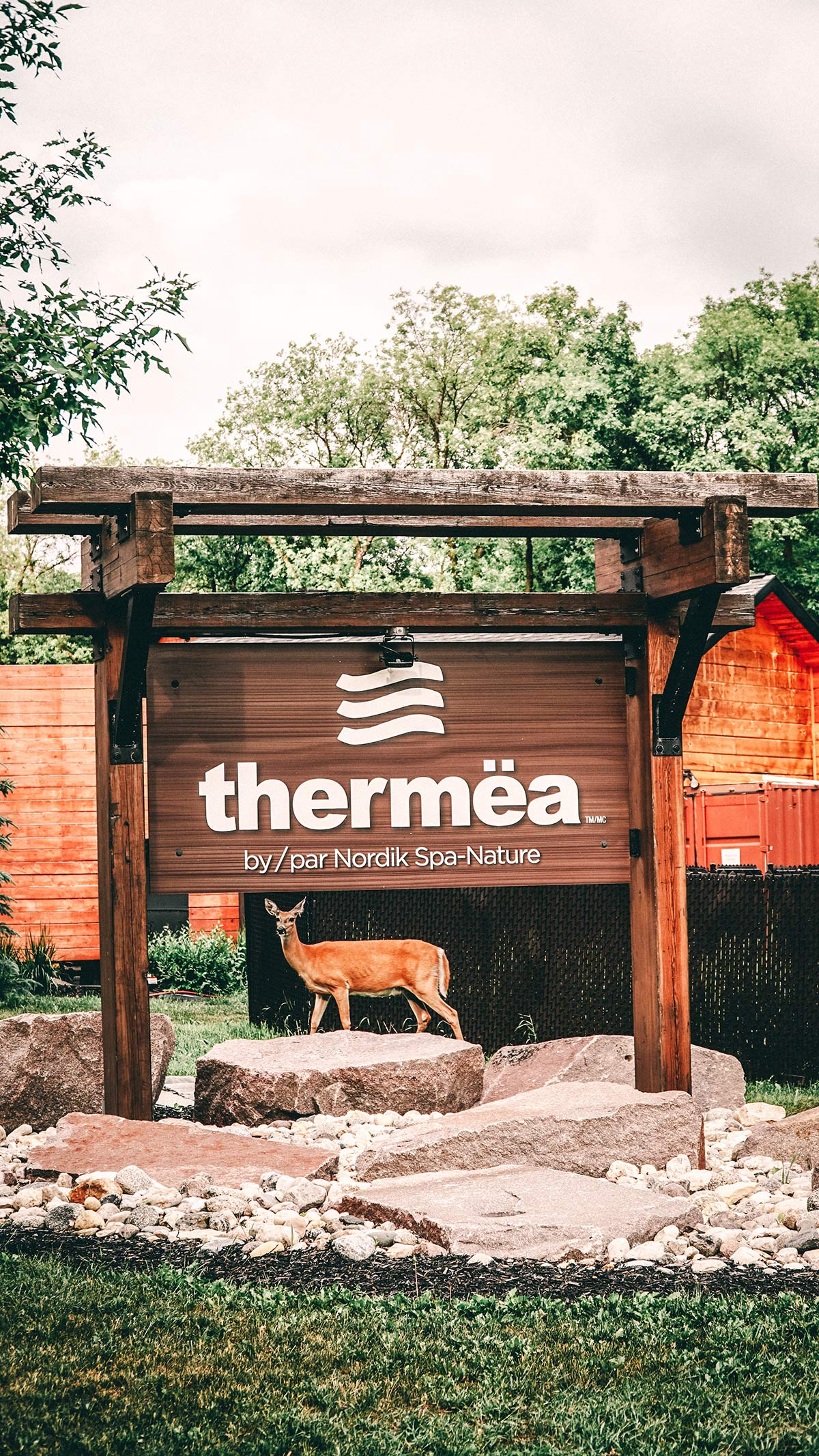 Thermea Nature Spa aussen