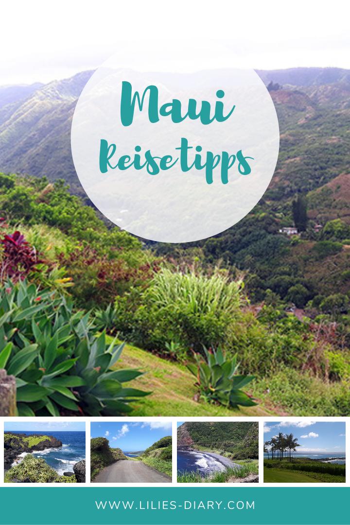 Hawaii Insel Maui Reisetipps
