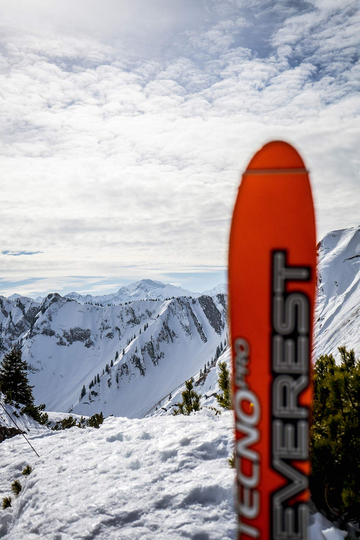 oesterreich tirol achensee skier bergpanorama