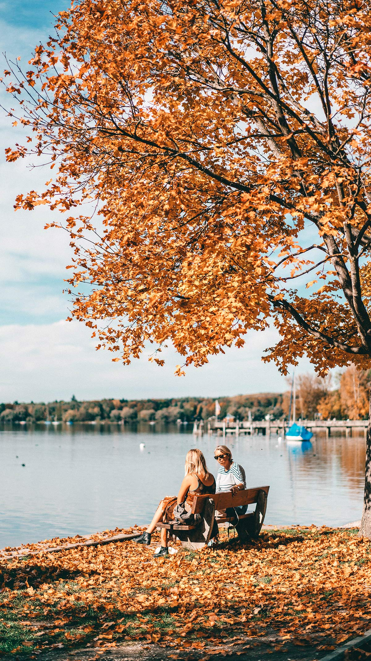 Ammersee Herbst