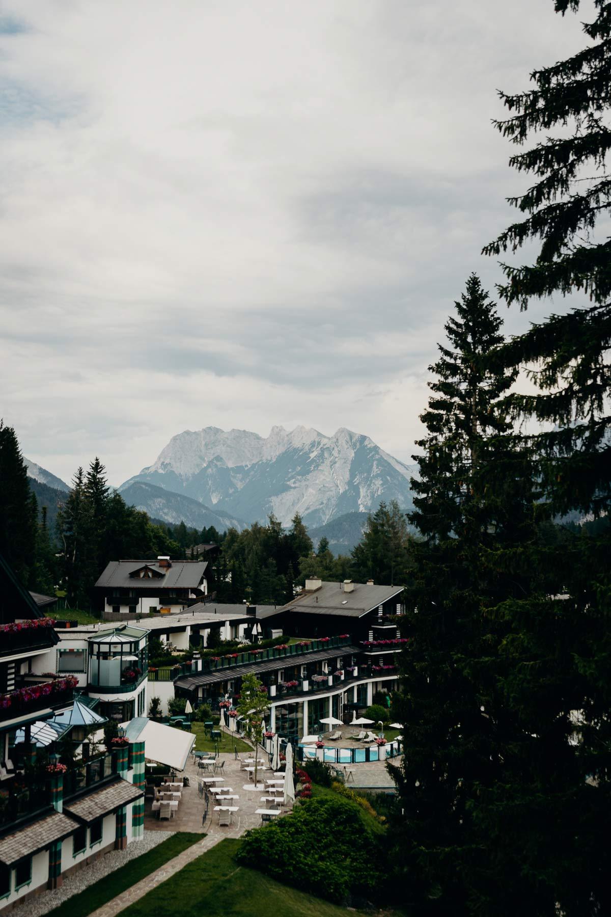 Aussicht Bergwelt