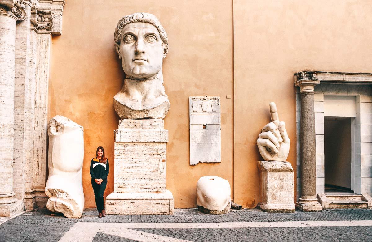Celine in den Kapitolinischen Museen