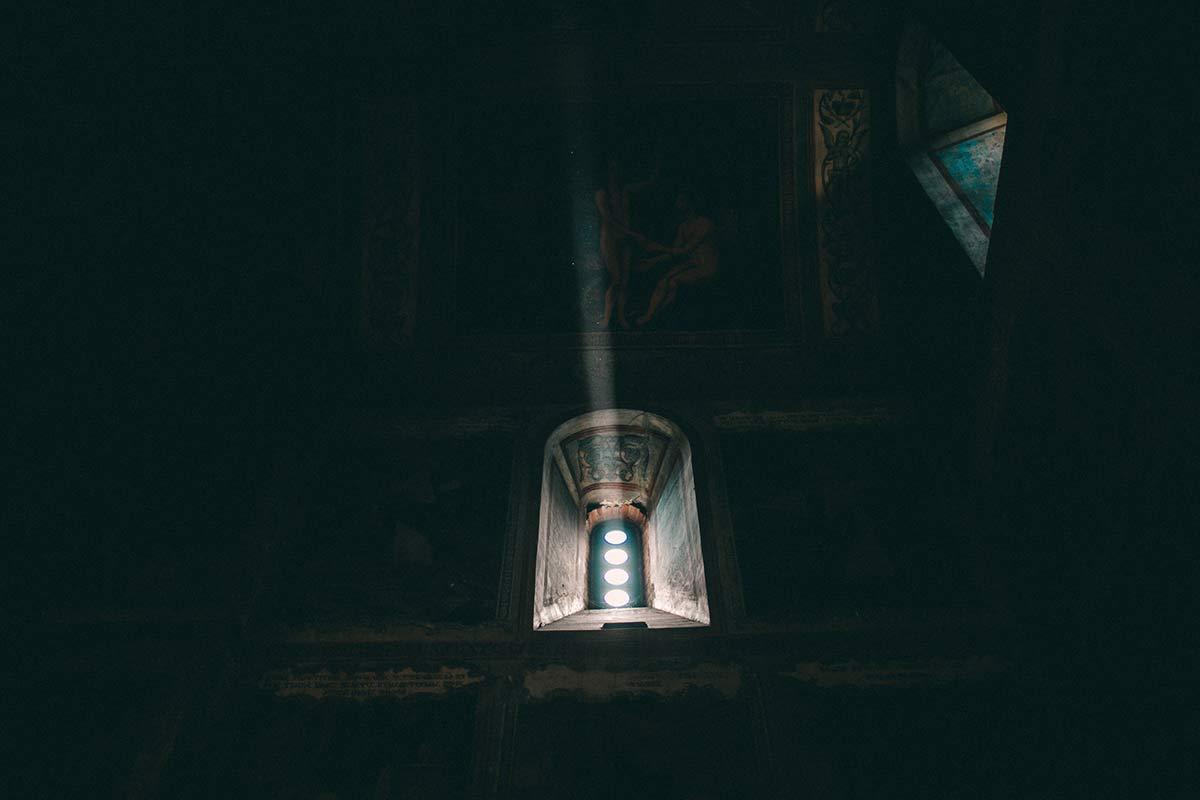 Fenster im Kloster