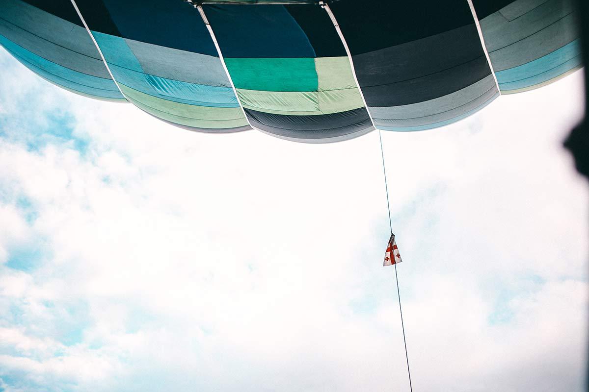 heisssluftballonfahrt georgien