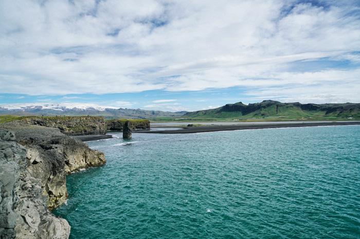 klippen bei dyrholaey island