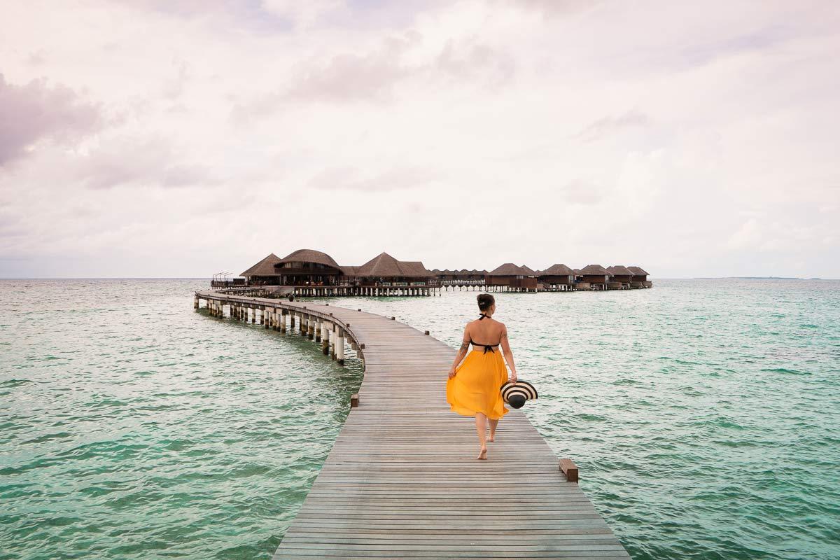 Malediven Wasservillen