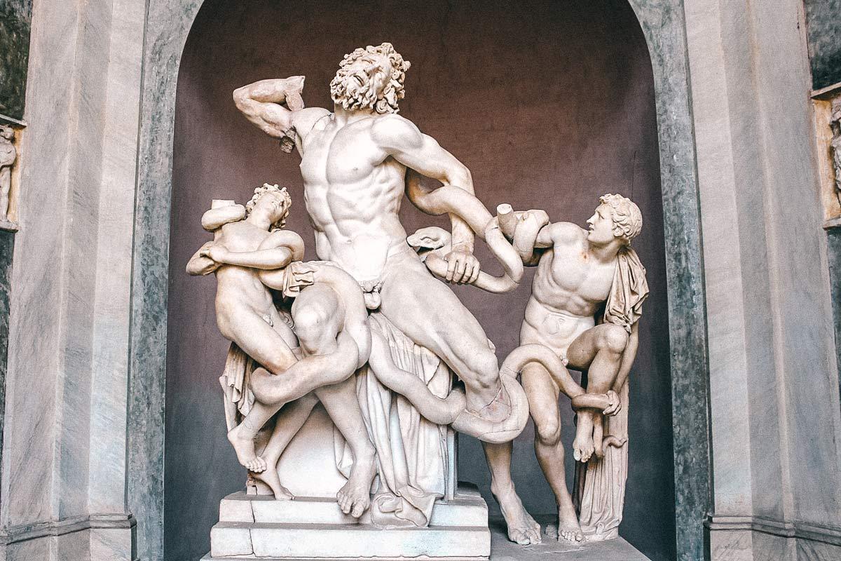 Vatikanische Museen Laokoon Gruppe