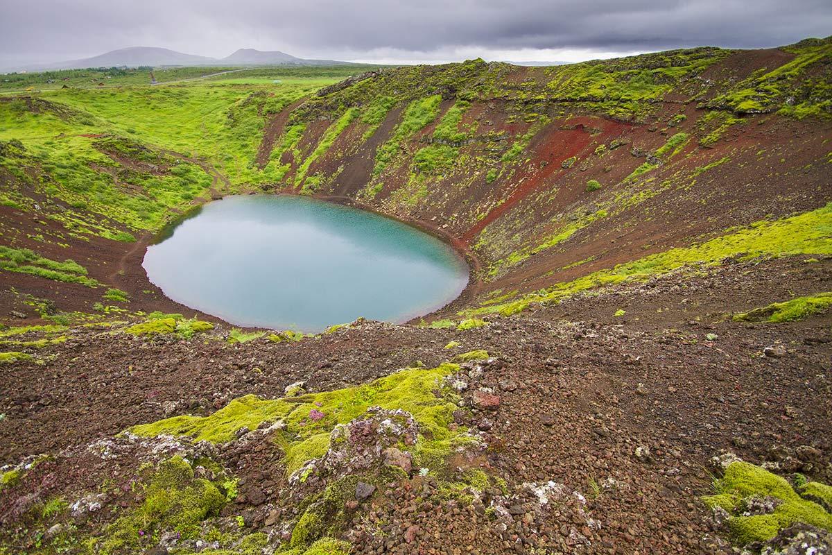 vulkankrater island