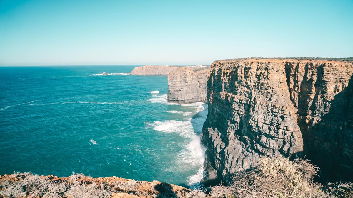 Küste Sandy Toes Algarve