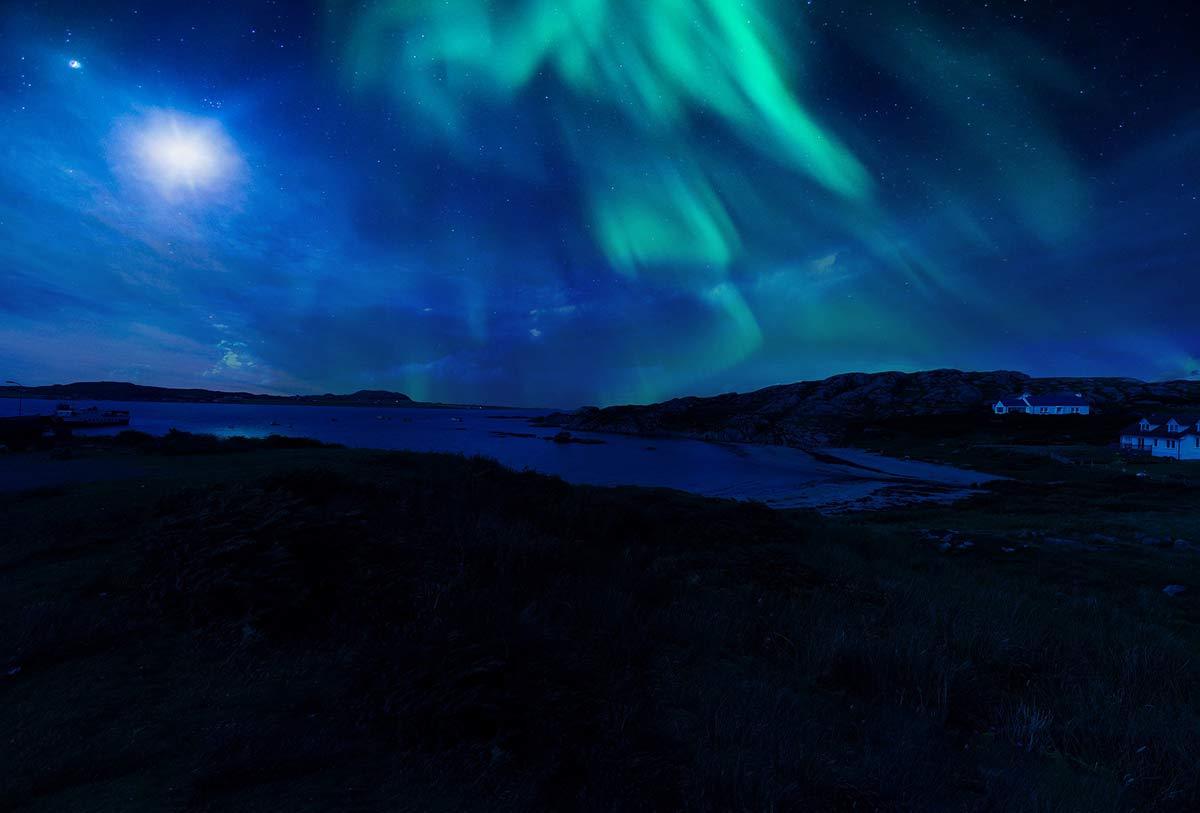 nordlichter in schottland