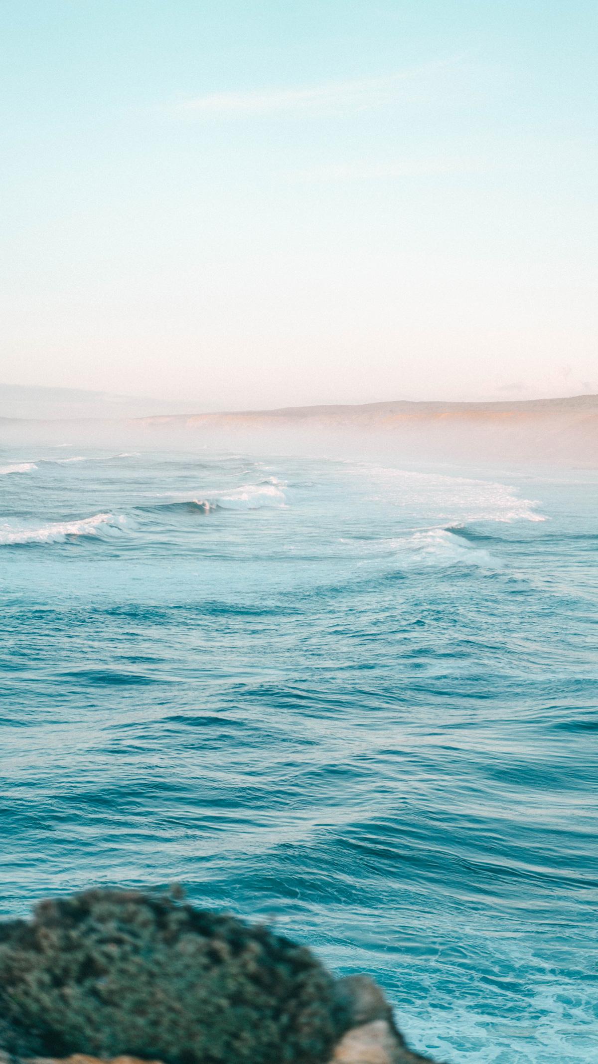 Praia da Bordeira Wellen