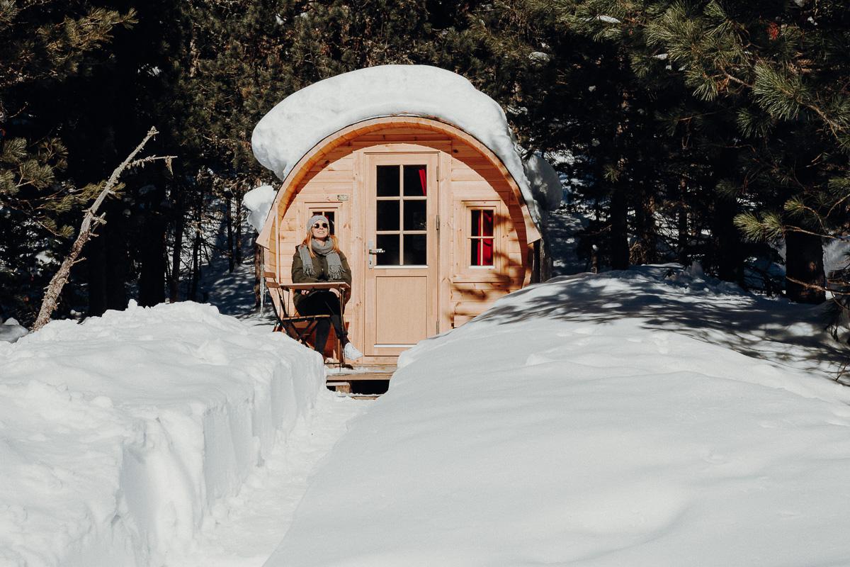 Sonnen Campingplatz St. Moritz