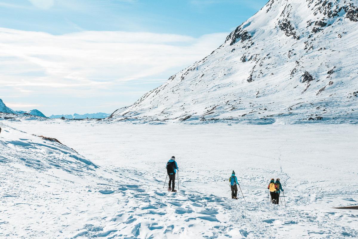 St. Moritz Schneeschuhwandern