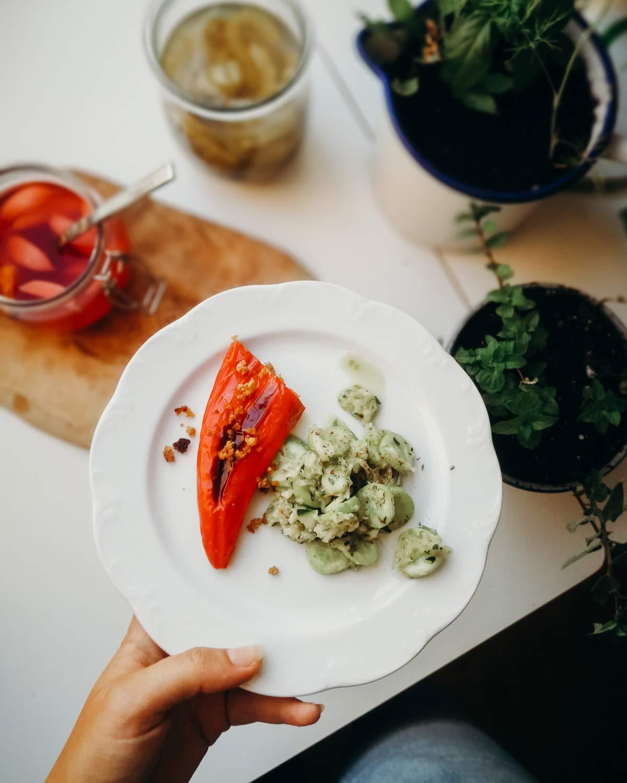 essen gestopfte paprika zero waste