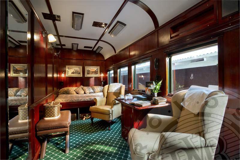 Pride of Africa von Rovos Rail