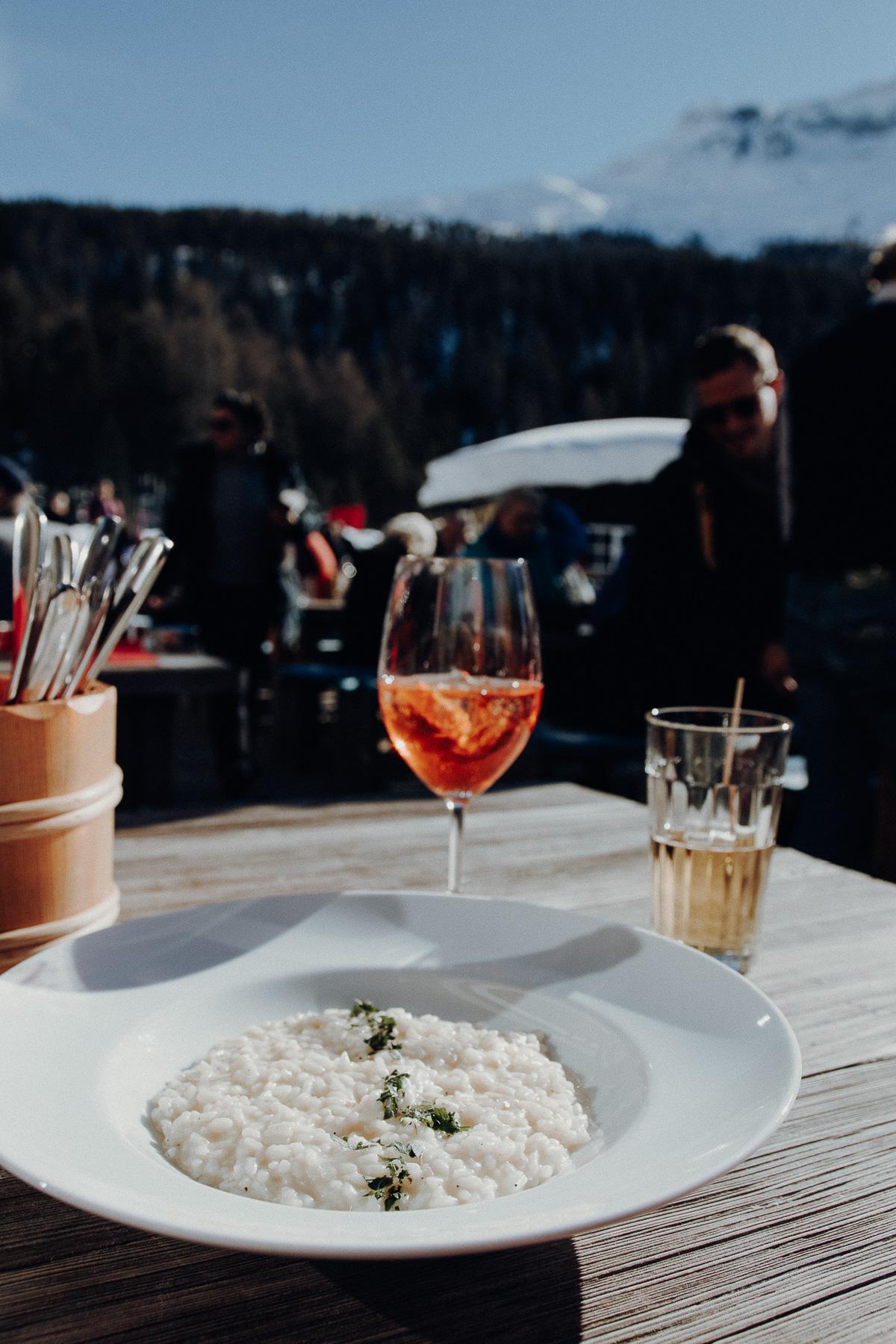 Berghütte St. Moritz