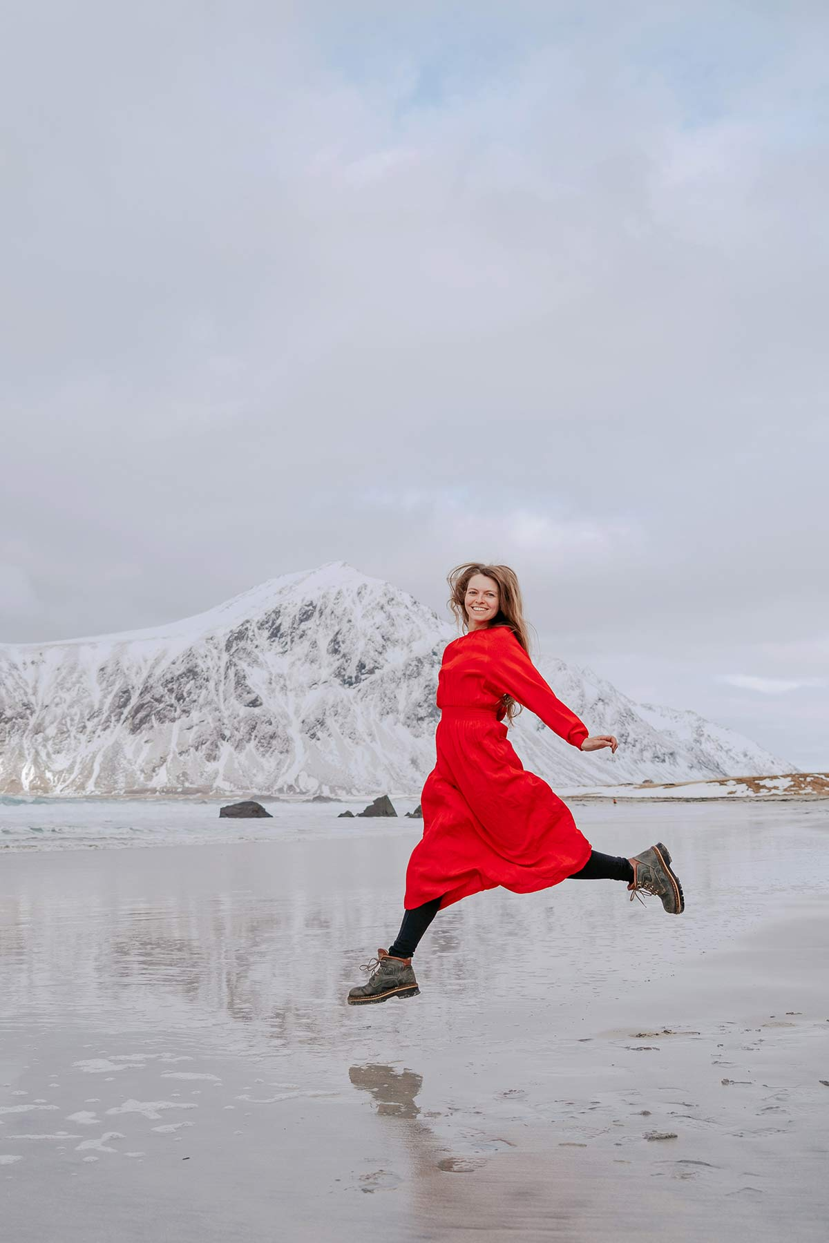 Christine Neder Lofoten im Winter